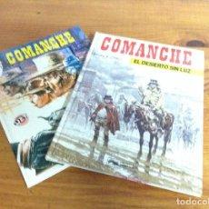 Tebeos: COMANCHE 2 Y 3 , HERMANN. Lote 194878088