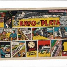 Tebeos: PELICULAS FAMOSAS RAYO DE PLATA ES ORIGINAL Y MUY DIFICIL DE CONSEGUIR DIBUJANTE TOMÁS PORTO. Lote 195598540