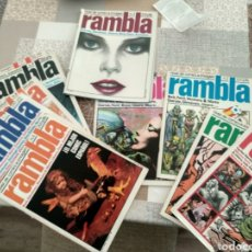 Tebeos: REVISTA RAMBLA DEL 1 AL 11. Lote 195612972