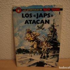Tebeos: LAS AVENTURAS DE BUCK DANNY - Nº 1 - LOS JAPS ATACAN - NOVARO - TAPA BLANDA. Lote 196650570
