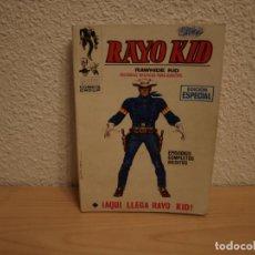 Tebeos: RAYO KID - NÚMERO 1 - FORMATO TACO - VERTICE - BUEN ESTADO . Lote 196651092