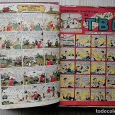 Livros de Banda Desenhada: TEBEOS Y COMICS ANTIGUOS EN UN SOLO VOLUMEN – TBO, DDT, (VER RELACIÓN). Lote 197123585