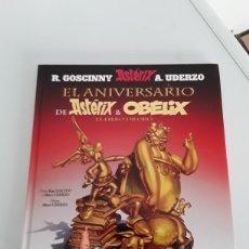 Livros de Banda Desenhada: EL ANIVERSARIO DE ASTERIX&OBELIX EL LIBRO DE ORO. Lote 198429247