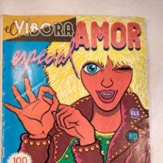 BDs: EL VIBORA - ESPECIAL AMOR. 1980. EXTRA. ED. CUPULA. S.A. CONTRAPORTADA DE CEESEPE.. Lote 201188765