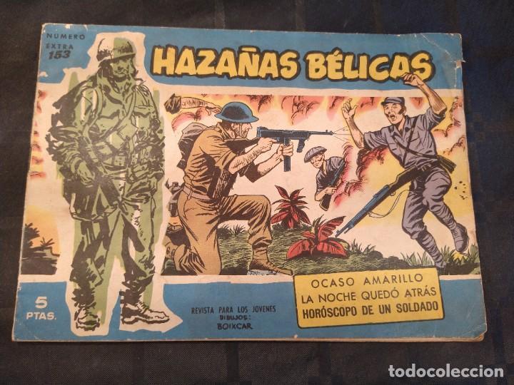 HAZAÑAS BÉLICAS – Nº EXTRA 153 - EDICIONES TORAY. EDICIÓN ORIGINAL, 1958. (Tebeos y Cómics - Tebeos Extras)