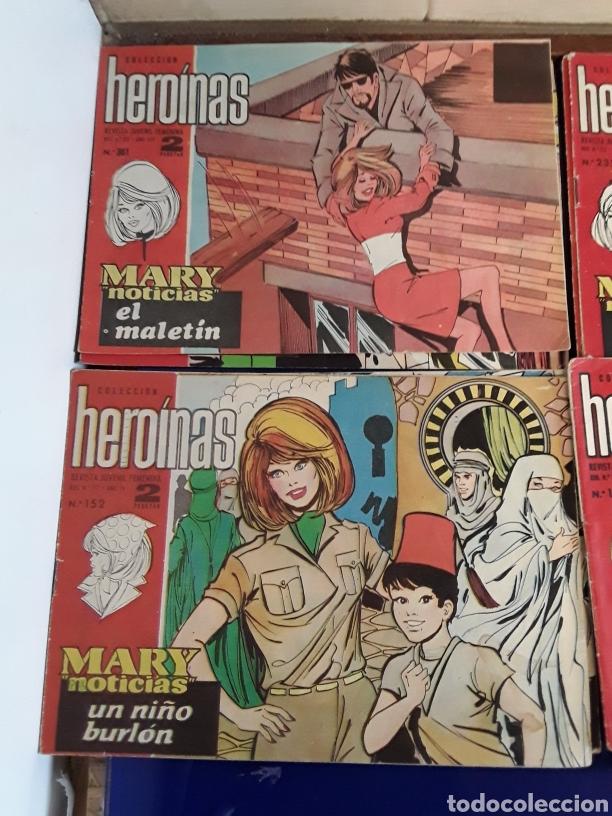 Tebeos: 19 Tebeos coleccion HEROINAS - Foto 5 - 201533370