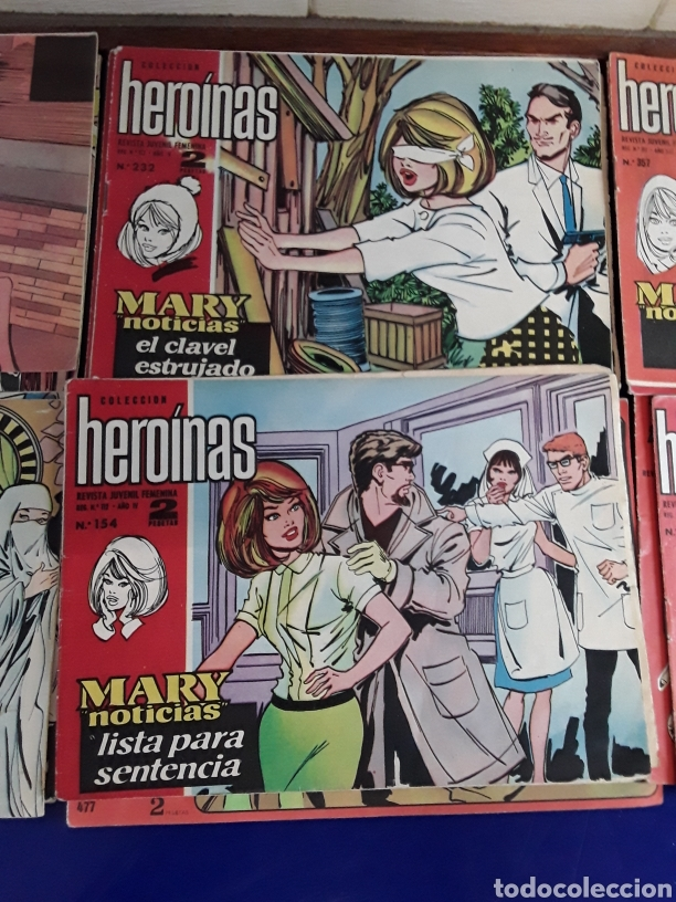 Tebeos: 19 Tebeos coleccion HEROINAS - Foto 6 - 201533370
