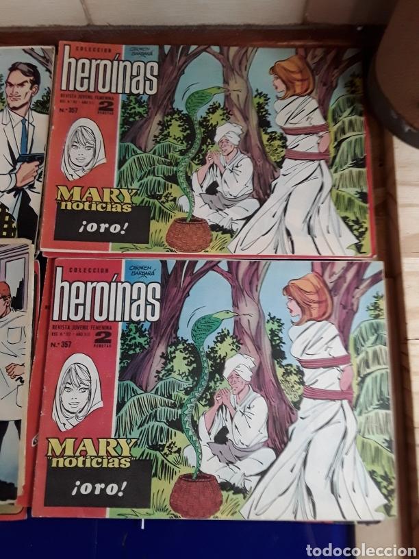 Tebeos: 19 Tebeos coleccion HEROINAS - Foto 7 - 201533370