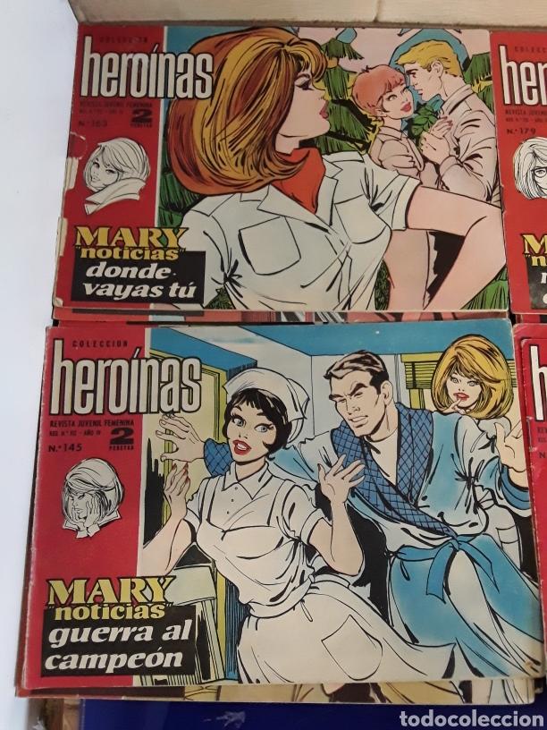 Tebeos: 19 Tebeos coleccion HEROINAS - Foto 8 - 201533370