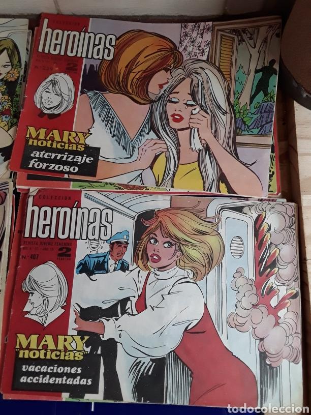 Tebeos: 19 Tebeos coleccion HEROINAS - Foto 10 - 201533370