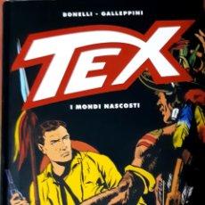 Tebeos: TEBEOS-COMICS CANDY - TEX - MUNDOS OCULTOS - TOMO 470 PAGS - ED. ITALIANA- MUY RARO- AA98. Lote 203389821