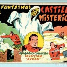 Tebeos: LOS FANTASMAS DEL CASTILLO MISTERIOSO COLECCION AUDAZ MADRID 16 PÁGINAS. Lote 205543933