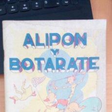 Tebeos: ALIPON Y BOTARATE DE EDITORIAL ROMA. Lote 205591621