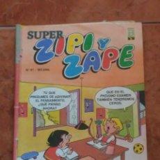 Tebeos: SUPER ZIPI Y ZAPE 1987. Lote 205814522