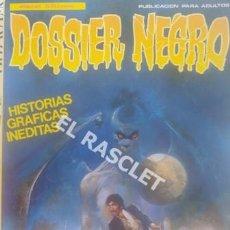 Tebeos: HISTORIAS GRAFICAS INEDITAS - DOSSIER NEGRO - EXTRA 9 - Nº 192-193-194-195-. Lote 205894845