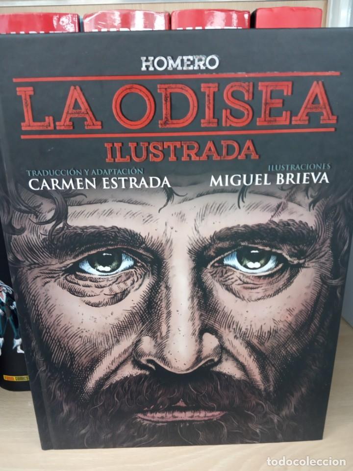 LA ODISEA ILUSTRADA , EDITORIAL MALPASO. (Tebeos y Cómics - Tebeos Extras)