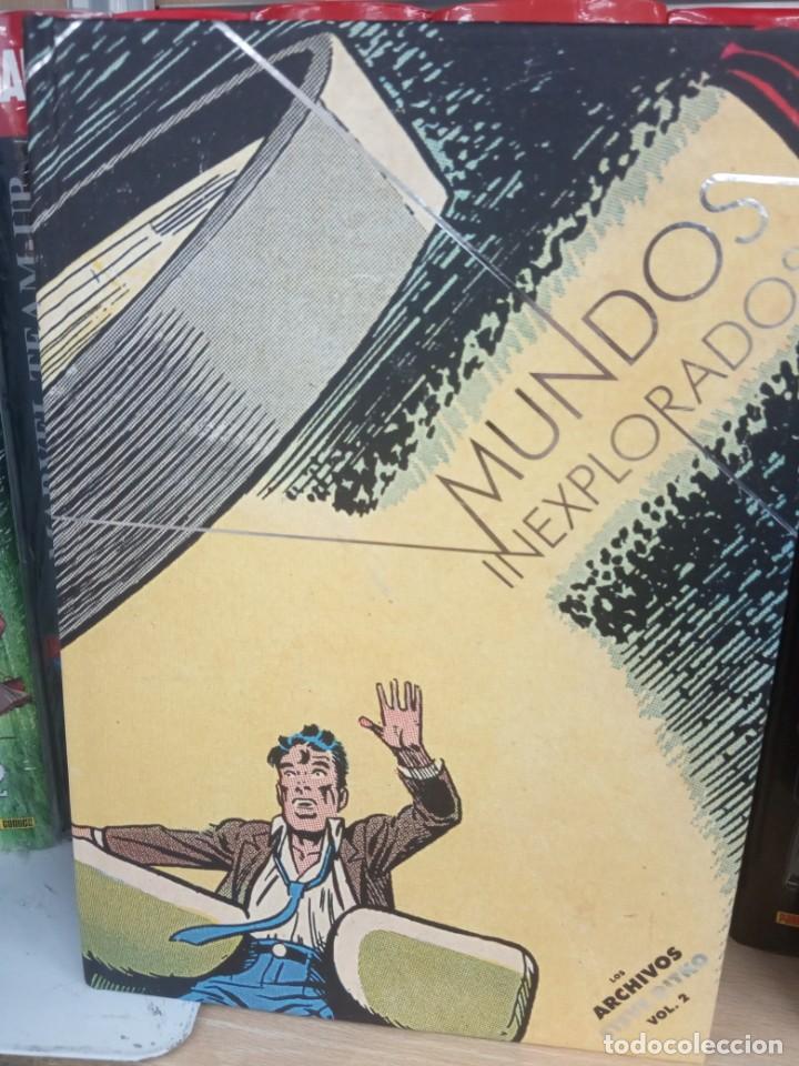 MUNDO INEXPLORADO, LOS ARCHIVOS DE STEVE DIKTO, VOL.2, DIIÁBOLO EDICIONES. (Tebeos y Cómics - Tebeos Extras)