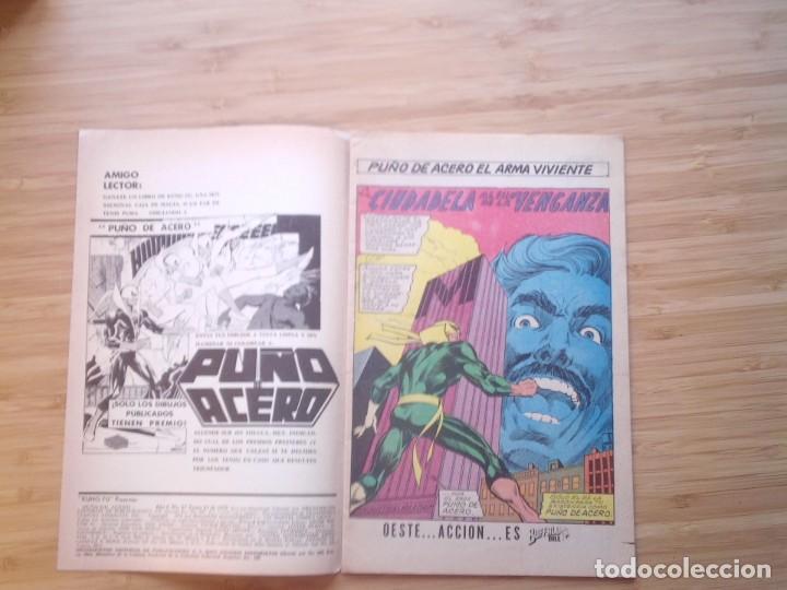 Tebeos: KUNG FU PRESENTA PUÑO DE ACERO - NUMERO 17 - 1975 - BUEN ESTADO -MACC DIVISION HISTORIETAS - GORBAUD - Foto 3 - 206843941