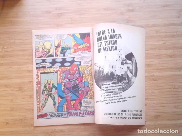 Tebeos: KUNG FU PRESENTA PUÑO DE ACERO - NUMERO 17 - 1975 - BUEN ESTADO -MACC DIVISION HISTORIETAS - GORBAUD - Foto 5 - 206843941