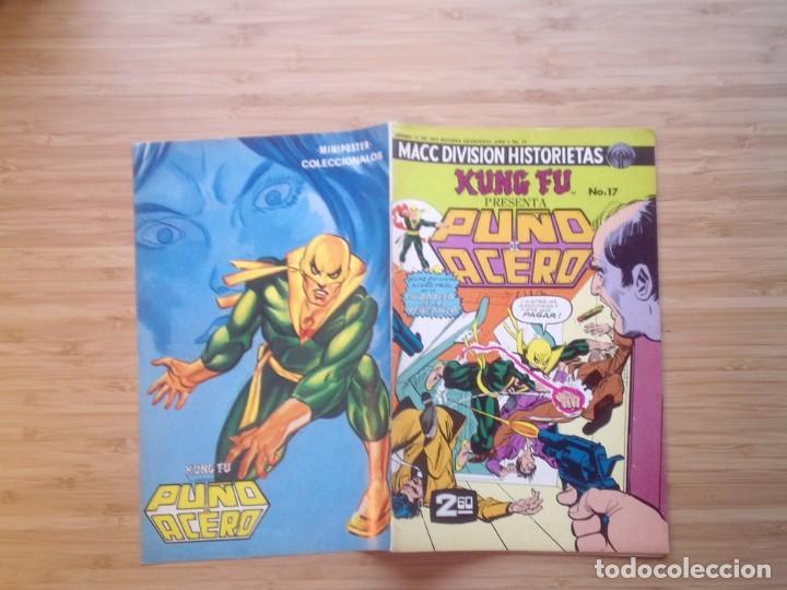 KUNG FU PRESENTA PUÑO DE ACERO - NUMERO 17 - 1975 - BUEN ESTADO -MACC DIVISION HISTORIETAS - GORBAUD (Tebeos y Cómics - Tebeos Extras)