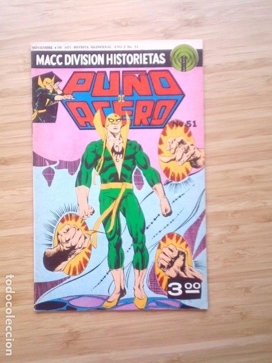 Tebeos: PUÑO DE ACERO - NUMERO 65 - 1975 - MACC DIVISION HISTORIETAS - BUEN ESTADO - GORBAUD - Foto 2 - 206843957