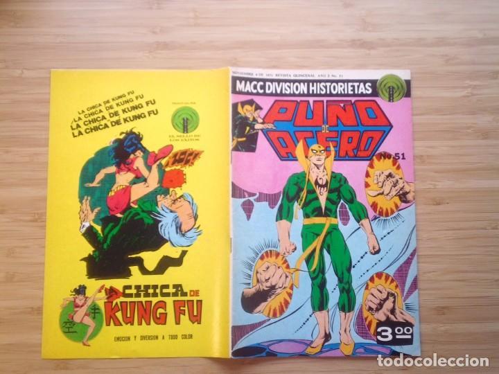 PUÑO DE ACERO - NUMERO 65 - 1975 - MACC DIVISION HISTORIETAS - BUEN ESTADO - GORBAUD (Tebeos y Cómics - Tebeos Extras)