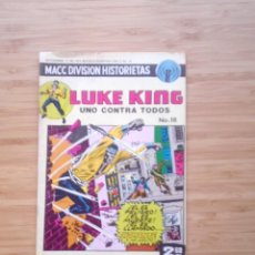Tebeos: LUKE KING - NUMERO 18 - 1975 - MACC DIVISION HISTORIETAS - NORMAL ESTADO GORBAUD. Lote 206843966