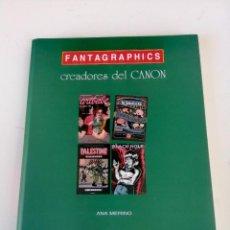 Tebeos: FANTAGRAPHICS, CREADORES DEL CANON (ANA MERINO). Lote 207443405