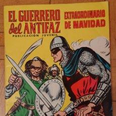 Tebeos: EL GUERRERO DEL ANTIFAZ, EXTRAORDINARIO NAVIDAD, VALENCIANA, ORIGINAL, VED FOTOS. Lote 207738955