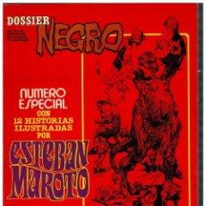 Tebeos: DOSSIER NEGRO. ESPECIAL ESTEBAN MAROTO. MARZO, 1978. MUY BUENO.. Lote 227758972