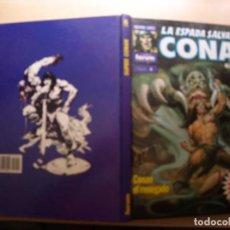 Tebeos: SUPER CONAN - 2ª EDICION - NÚMERO 4 - TAPA DURA - COMIC FORUM -BUEN ESTADO. Lote 209751186