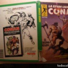 Tebeos: SUPER CONAN - 1 EDICION - NÚMERO 7 - TAPA DURA - COMIC FORUM -. Lote 209756390