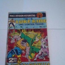 Tebeos: LUKE KING - AÑO 2 - NUMERO 20 - MACC DIVISION HISTORIETAS - NOVIEMBRE 1975 - NORMAL ESTADO -GORBAUD. Lote 209815628