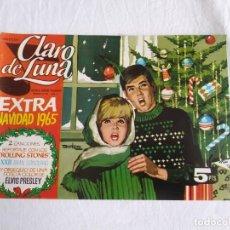 Tebeos: CLARO DE LUNA EXTRA NAVIDAD AÑO 1965, BUEN ESTADO. Lote 209919555