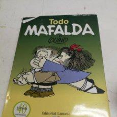 BDs: TODO MAFALDA 40 ANIVERSARIO BY JOAQUÍN SALVADOR LAVADO (QUINO) 659 PAG TODAS LAS TIRAS PUBLICADA. Lote 214020558