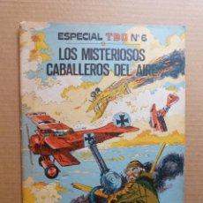 Tebeos: TEBEO TBO ESPECIAL Nº 6 LOS MISTERIOSOS CABALLEROS DEL AIRE BUIGAS ESTIVILL VIÑA - I GUERRA MUNDIAL. Lote 214234487