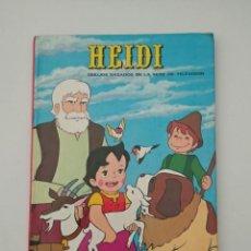 Tebeos: HEIDI - EDICIÓN ESPECIAL CAJA DE AHORROS SAGRADA FAMILIA - EDICIONES RECREATIVAS 1976 - VER FOTOS. Lote 216787180