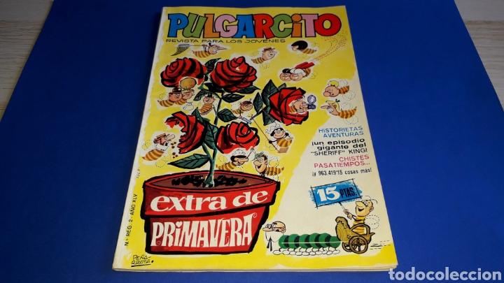 PULGARCITO EXTRA DE PRIMAVERA, F. IBAÑEZ PEÑARROYA DON PÍO MORTADELO ZIPI ZAPE, ORIGINAL 1965. (Tebeos y Cómics - Tebeos Extras)