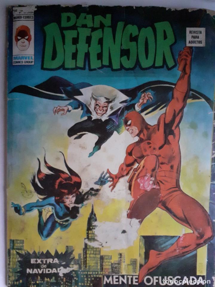 DAN DEFENSOR (DAREDEVIL)- VÉRTICE- EXTRA NAVIDAD-MENTE OFUSCADA-1977-CORRECTO-DIFÍCIL-LEA-3716 (Tebeos y Cómics - Tebeos Extras)