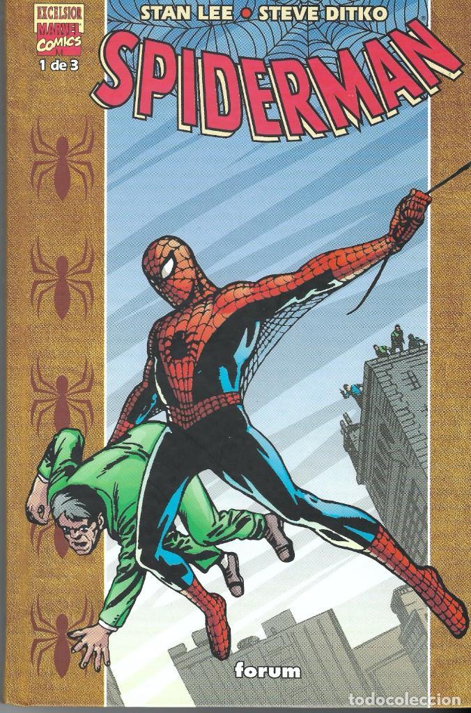 SPIDERMAN STAN LEE/STEVE DITKO 1 DE 3 EXCELSIOR MARVEL COMICS (Tebeos y Cómics - Tebeos Extras)