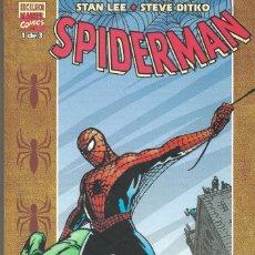 Tebeos: SPIDERMAN STAN LEE/STEVE DITKO 1 DE 3 EXCELSIOR MARVEL COMICS. Lote 217955261