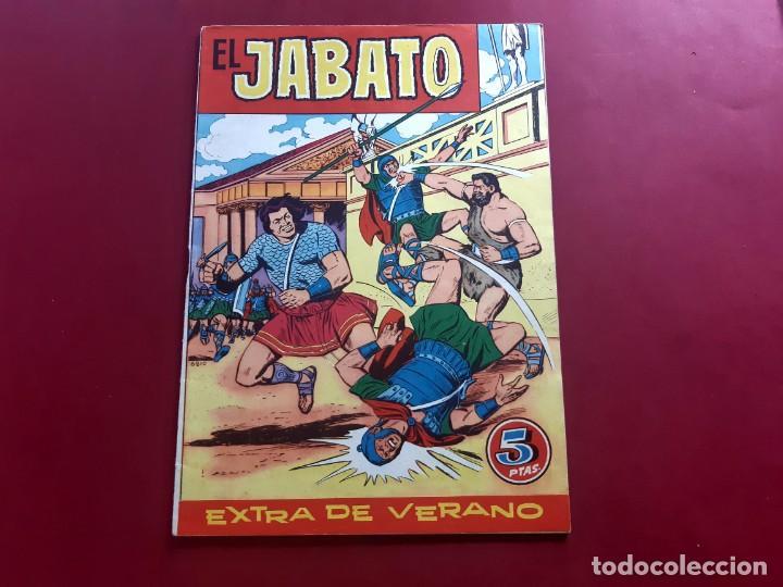 EL JABATO EXTRA DE VERANO 1960 - ORIGINAL- IMPECABLE ESTADO (Tebeos y Cómics - Tebeos Extras)