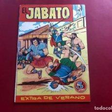 Tebeos: EL JABATO EXTRA DE VERANO 1960 - ORIGINAL- IMPECABLE ESTADO. Lote 218419890