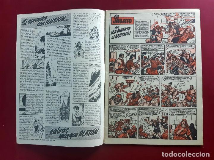 Tebeos: EL JABATO EXTRA DE VERANO 1960 - ORIGINAL- IMPECABLE ESTADO - Foto 2 - 218419890