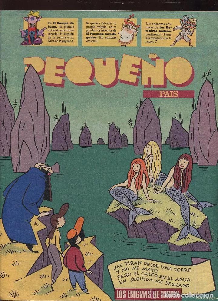 TEBEO - PEQUEÑO PAIS - LOS ENIGMAS DE TURPIN (Tebeos y Cómics - Tebeos Extras)