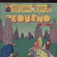 Tebeos: TEBEO - PEQUEÑO PAIS - LOS ENIGMAS DE TURPIN. Lote 219455033