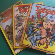 Tebeos: TARZAN ALBUM ESPECIAL LOS TRES ALBUMES QUE SALIERON EDICIONES HITPRESS. Lote 221551078