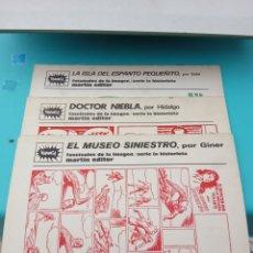 Tebeos: REVISTA COMICS BANG! N.1,2,3.ANO 1973. Lote 221885303