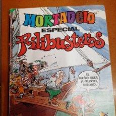 Tebeos: MORTADELO ESPECIAL FILIBUSTEROS DE 1.981, DE 100 PÁGS.. Lote 222642750