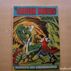 Tebeos: EL CAPITAN TRUENO - NUMERO DE VACACIONES - ORIGINAL - BRUGUERA- MUY BUEN ESTADO. Lote 222757428